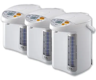 Zojirushi Panorama Window® Micom Water Boiler & Warmer CD-LFC30/40/50