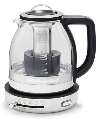 KitchenAid KEK1322SS Electric Glass Tea Kettle