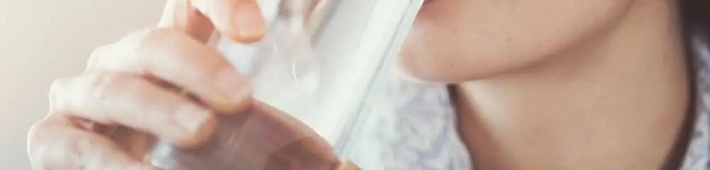 Tasting-boiled-water
