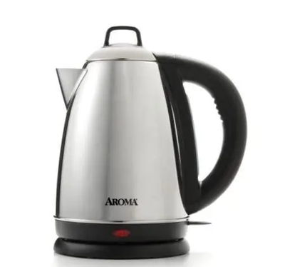 aroma-housewares-HOT-H20-X-Press-1.5L-Stainless-Steel-Electric-Kettle