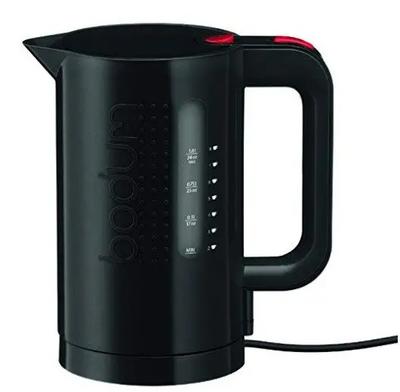 Bodum Bistro Electric Water Kettle - 34 Oz, 1 L, Black